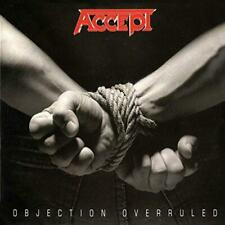 Accept - Objection Overruled (NEW CD)