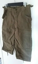 H&M Divided mens combat shorts long cargo / military / army green. Sz 30. New