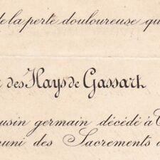 Jules Charles Des Hays De Gassart Courtonne 1887