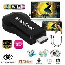 4K 1080P HDMI Wireless Display WIFI Dongle Receiver Miracast Airplay Mirascreen