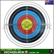 d6ebced78f 10 x Paper Target Faces 40x40cm for Compound Recurve Bow Archery Target  Practice