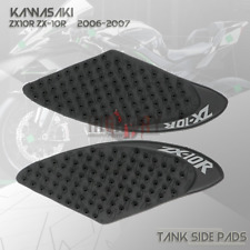 3M Tank Pad Traction Side Gas Knee Grip Sticker For KAWASAKI ZX-10R 2006-2007 06