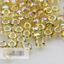 Preciosa Czech Glass Seed Beads Rocailles 10gr (700 pcs2.2-2.4mm) Canary yell AB