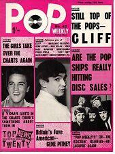 Pop Weekly Magazine 12 June 1965  Marianne Faithfull Francoise Hardy Gene Pitney