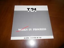 "T21 WORKS IN PROGRESS VINYL 12"" PLAY IT AGAIN IMPORT EXCELLENT"