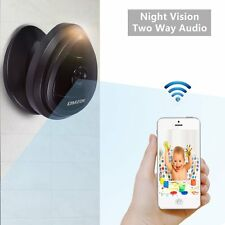 DMZOK 720P Wireless Wifi Camera with Night Vision Two-Way Audio, Pan Tilt Zoom,