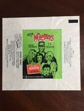 "1964, The Munsters, ""Leaf"" Trading Card Wrapper (Scarce)"