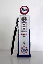 Esso Petrol Gas -Bowser - Petrol Pump Scale 1:18 Diecast Metal Custom Graphics