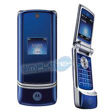 Téléphone Portable MOTOROLA KRZR K1 BLU TELEFONO ORIGINALE GARANZIA ITALIA