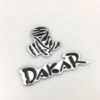 Dakar 3D Logo Emblem Auto SUV Lkw Aufkleber Dakar Sticker Racing