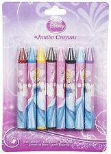 DISNEY PRINCESS JUMBO CRAYONS 8 Pack