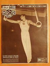 Miroir des Sports 438 du 21/12/1953-6è Coupe de France-Russe Azarjan aux anneaux