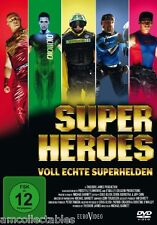 DVD - Superhéroes - COMPLETO verdaderos SUPER HEROES - NUEVO / embalaje original