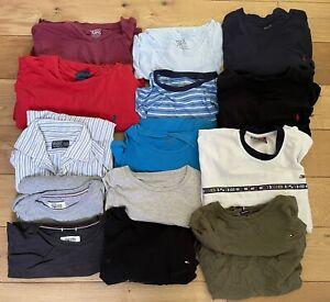 Wholesale Lot Tommy Hilfiger & Ralph Lauren Bundle X 14 Resell Depop T-Shirts