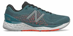 New Balance Men's Fresh Foam 880v10 Shoes Blue with Red