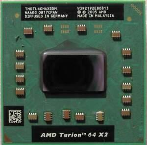 AMD Turion Dual-Core 64 X2 TL-60 CPU 2 GHz TMDTL60HAX5DM Socket S1 Processor