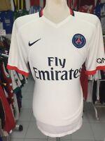 Maillot Paris Saint-Germain SG PSG 2015/16 (XL Exterieur Blanc Nike Jersey Shirt