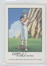 1990's Dragonball Z Hero Collection Trading Cards Japanese Bulma Trunks #101 2u3