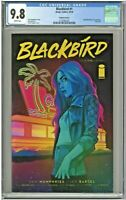 Blackbird #1 CGC 9.8 Variant Cover D ComicSketchArt.com Foil Cover Edition