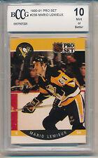 1990 Pro Set Mario Lemieux (HOF) (#236) BCCG10 BCCG