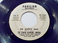Edwin Hawkins Singers Oh Happy Day / Jesus Lover Of My Soul 45 1977 Vinyl Record