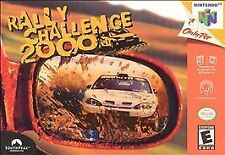Rally Challenge 2000 (Nintendo 64, 2000) N64 Game Only With Free Shipping