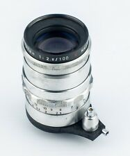 Meyer-Optik Gorlitz Trioplan 100mm f2.8 Lens With Exakta Mount V Rated
