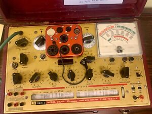 Hickok Model 6000A tube tester working and calibrated.