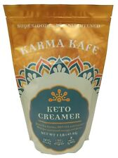 Karma Kafe Keto Creamer - Grass Fed Butter, MCT Oil, Coconut Milk, No Sugar 1 LB
