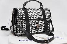 PROENZA PS1 SAC SCHOULER BLACK WHITE TRIANGLE PRINT SATCHEL  BAG $2100