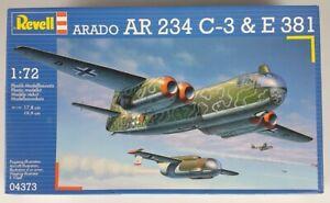 (259) 1990's Revell Arado AR 234 C-3 & E381