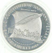Proof 1987-S U.S. Constitution Bicentennial Commemorative 90% Silver Dollar *229