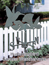 Whitehall Hummingbird 6' Garden Weathervane Rust Free & 3 Colors Available