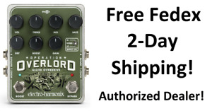 New Electro-Harmonix EHX Operation Overlord Allied Overdrive Effects Pedal