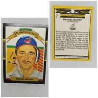 1987 Donruss Diamond Kings Brook Jacoby Cleveland Indians #8 Baseball Card