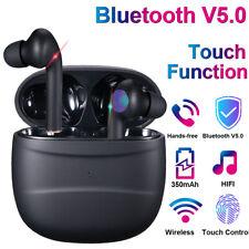 Bluetooth 5.0 Waterproof Wireless Smart Touch Headphone Headset Earphones Earbud