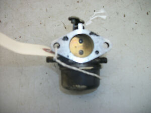 1989-91 Cub Cadet 1320 Hydro Lawn Tractor Part : 12.5 Kohler Engine Carburetor