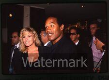 35mm photo slide O.J. Simpson and Nicole Brown Simpson  #1  1989