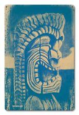 Vintage Styled Metal Sign KU Hawaii Tiki Art Polynesian Tiki Bar Decor Design