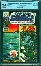 Captain Savage and his Leatherneck Raiders #19 CBCS NM 9.4 Off White to White