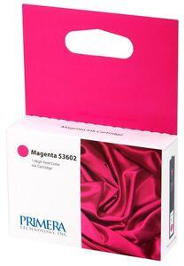 2-Pak Primera =BRAVO 4100-SERIES= MAGENTA Ink Cartridges, Primera 53602 X 2