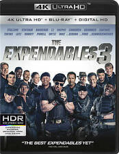 The Expendables 3 4k Ultra HD Blu-ray, with SLIP COVER UHD