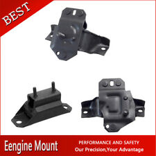Westar-Auto Trans & Engine Motor Mount Set 3X For 93 MUSTANG V8 5.0L 302cid AT