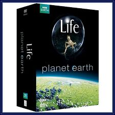 PLANET EARTH + LIFE BBC DVD 9-DISC BOXSET *BRAND NEW*