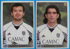 CARDS CALCIATORI 2000 MUNDICROMO - BARONCHELLI/ROMANO CESENA - N. 247