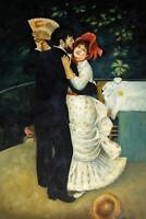 Quality Hand Painted Oil Painting Repro Renoir Country Dance 24x36in