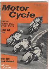 MOTOR CYCLE 14 APRIL 66 14/4/66 TIGER CUB FRANK PERRIS