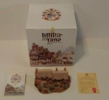 Lilliput Lane Anne Hathaway's Cottage English Artist Signed Box & Deed 1990