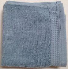 NEW DKNY 3 SLATE BLUE COTTON WASHCLOTH TOWELS