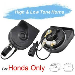 For Honda Civic CR-V Odyssey Jazz City Accord 410/510Hz Twin Tone Snail Horn